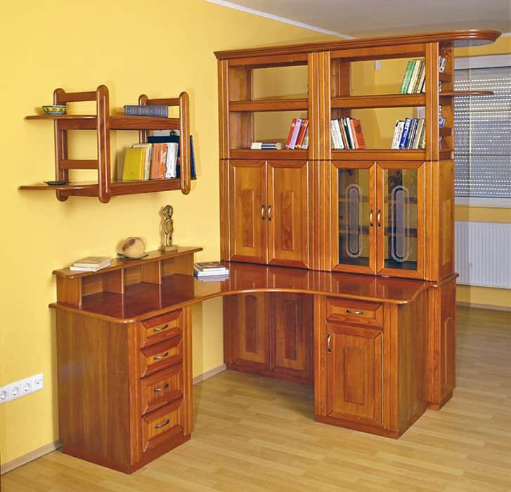 irodabútor íves sarok íróasztal iratszekrény