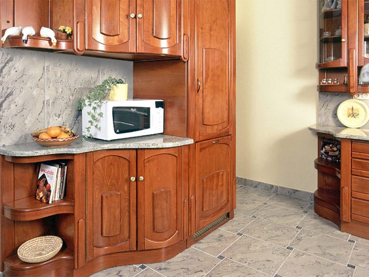Konyhabútor beépített hűtőszekrény