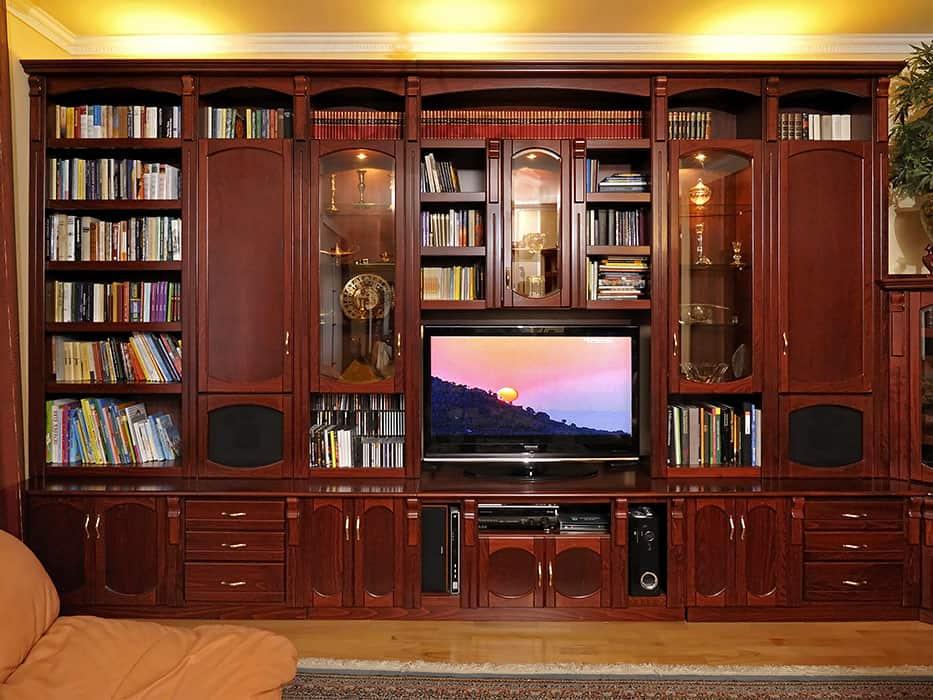 nappali szekrénysor könyvszekrény