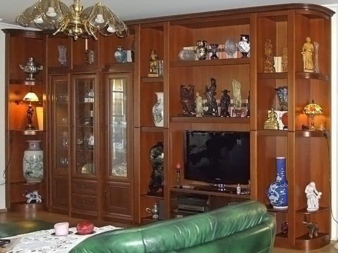 virtin beépítés nappali szekrénybe