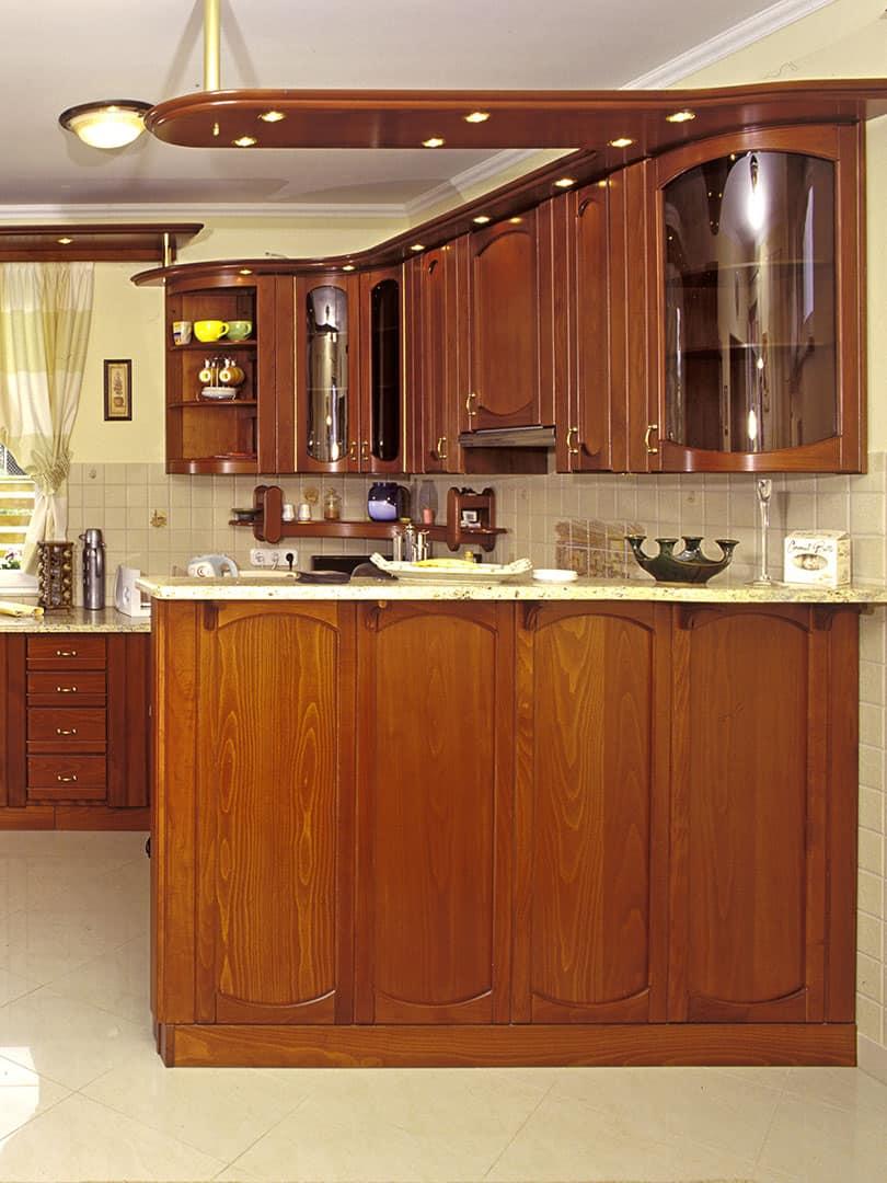 konyhabútor, térelválasztó konyhapult