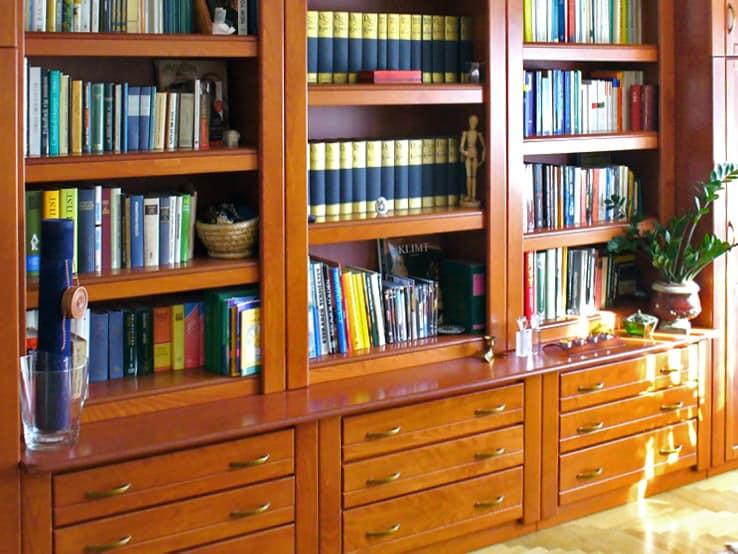 fiókos könyvszekrény