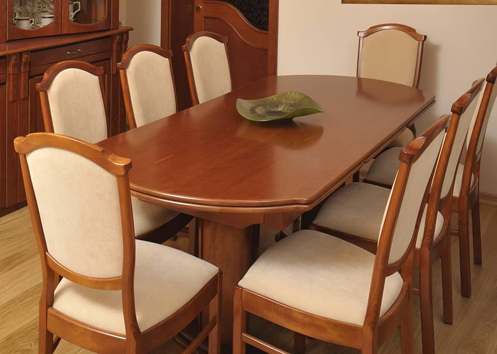 Étkező garnitúra nagyobbítható asztallal