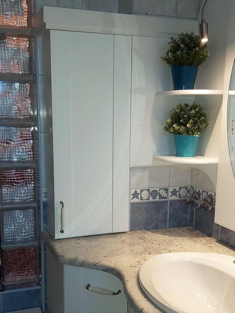 Fürdőszobai pipereszekrény